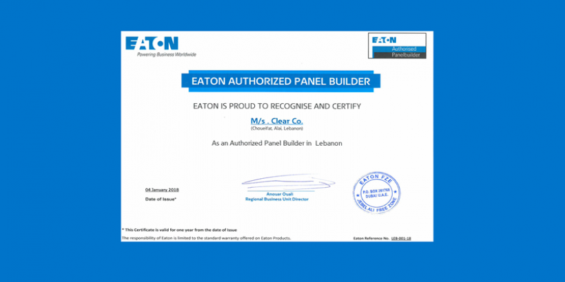 EATON Authorized Panel Builders